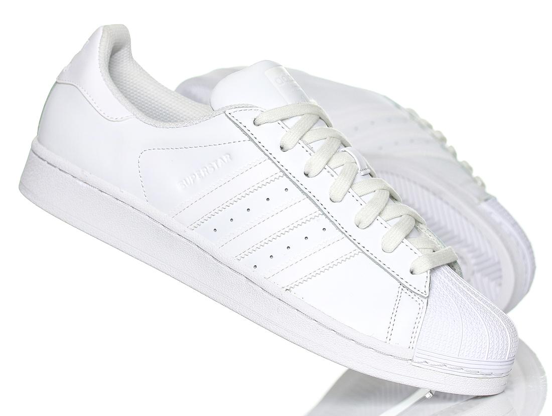 Buty m?skie Adidas Superstar B27136 r.46 23 BIA?E