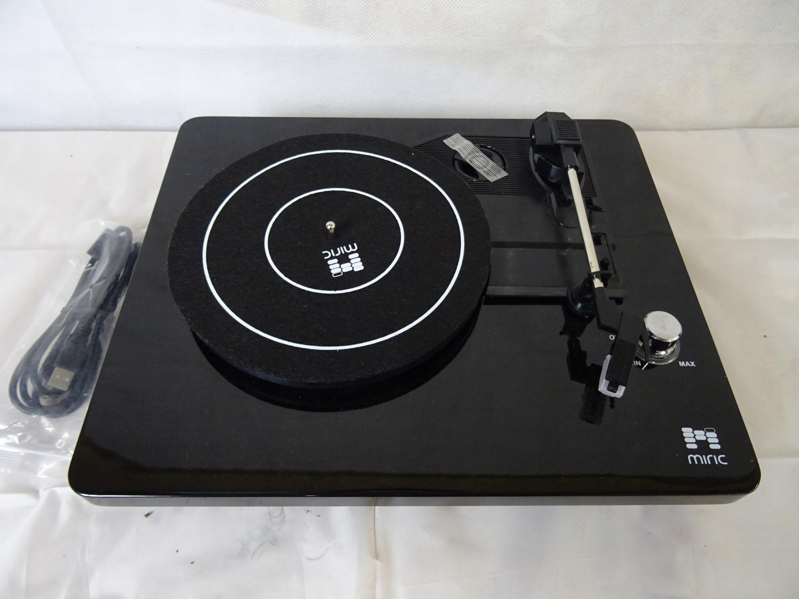 Gramofon Miric TT-3 #P1461 - 7684118111 - oficjalne archiwum