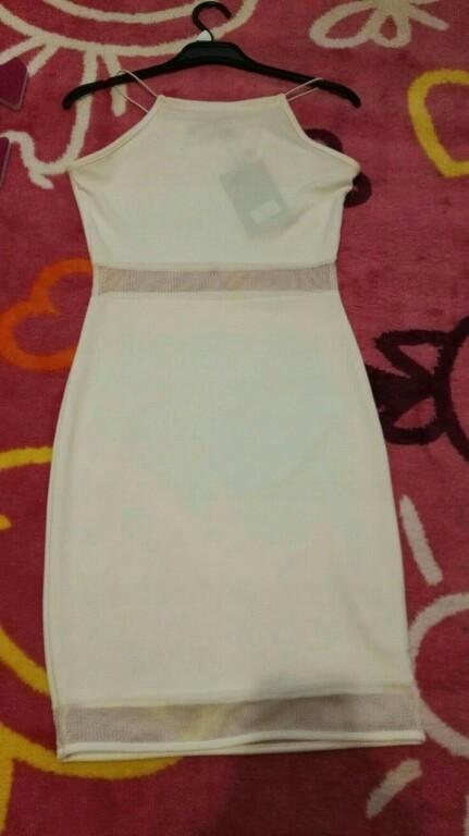 d69a53c3d4 MISSGUIDED Sukienka biała wizytowa r36 - 7235064178 - oficjalne ...