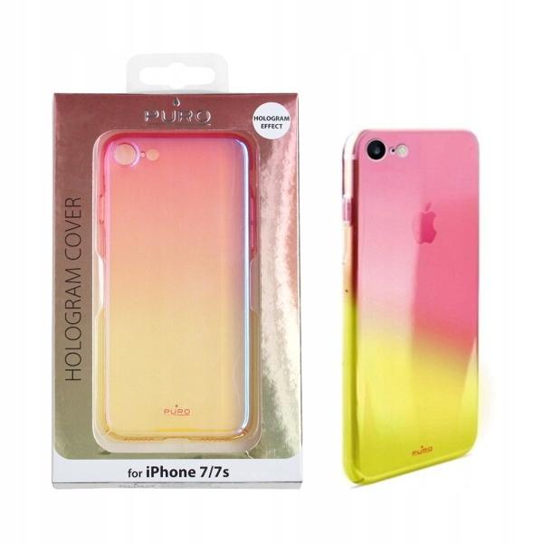 0a7ea942b679c0 POKROWIEC ETUI SLIM PURO HOLOGRAM Apple iPhone 7 8 - 7295051083 ...