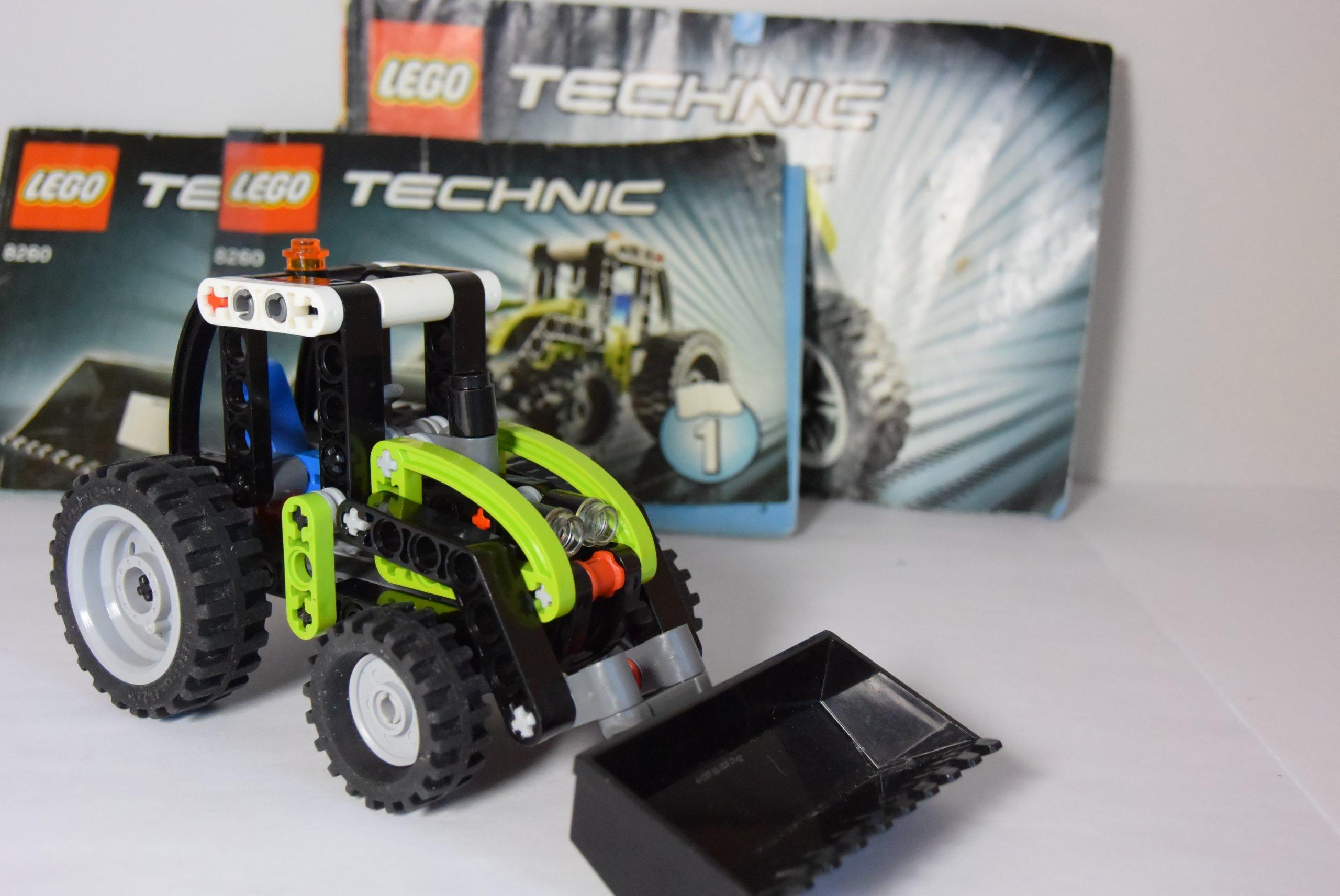 Klocki Lego Technic 8260 Traktor 2w1 Motocykl 7345539073