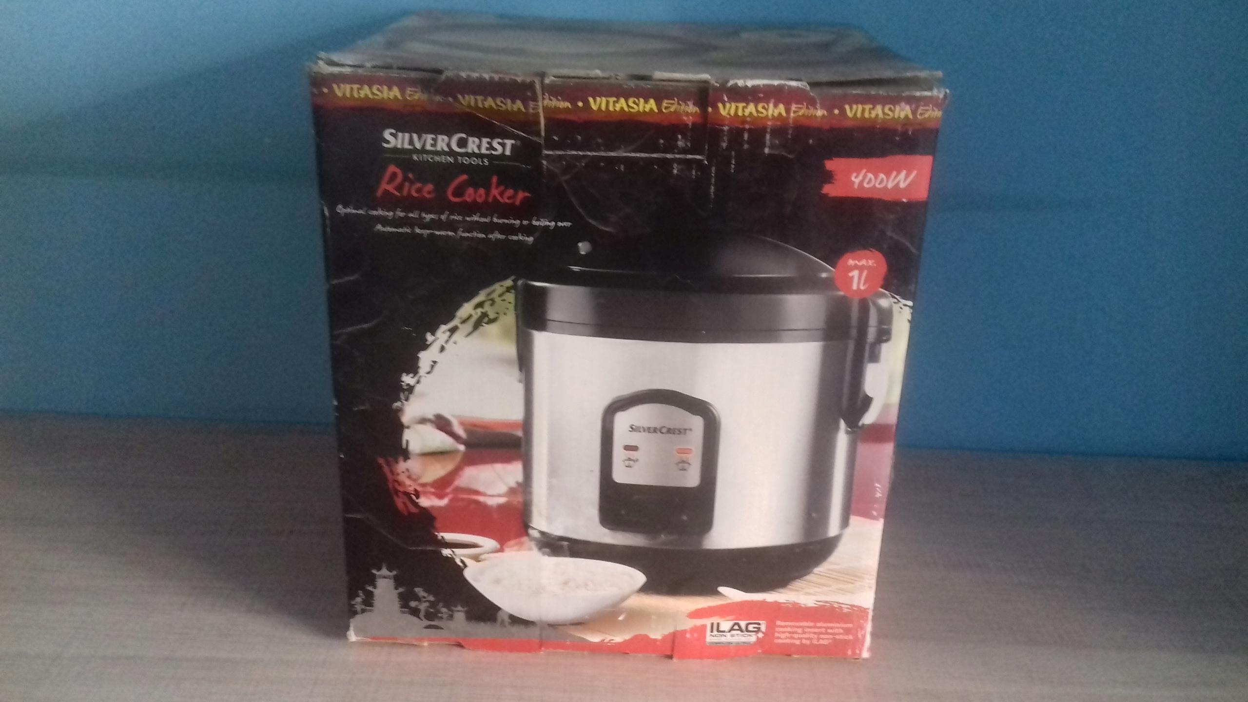 Parowar Urzadzenie Do Gotowania Ryzu Silvercrest 7665548450