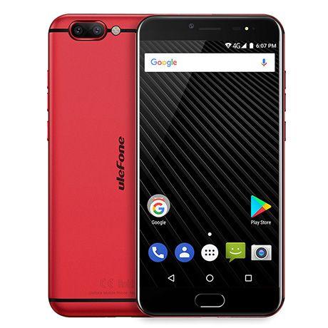 Ulefone T1 Dual LTE 6/64GB Red FV23%