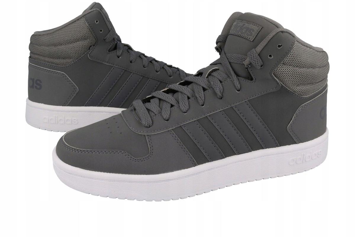 Buty męskie adidas hoops 2.0 mid b44635 różne r. Galeria