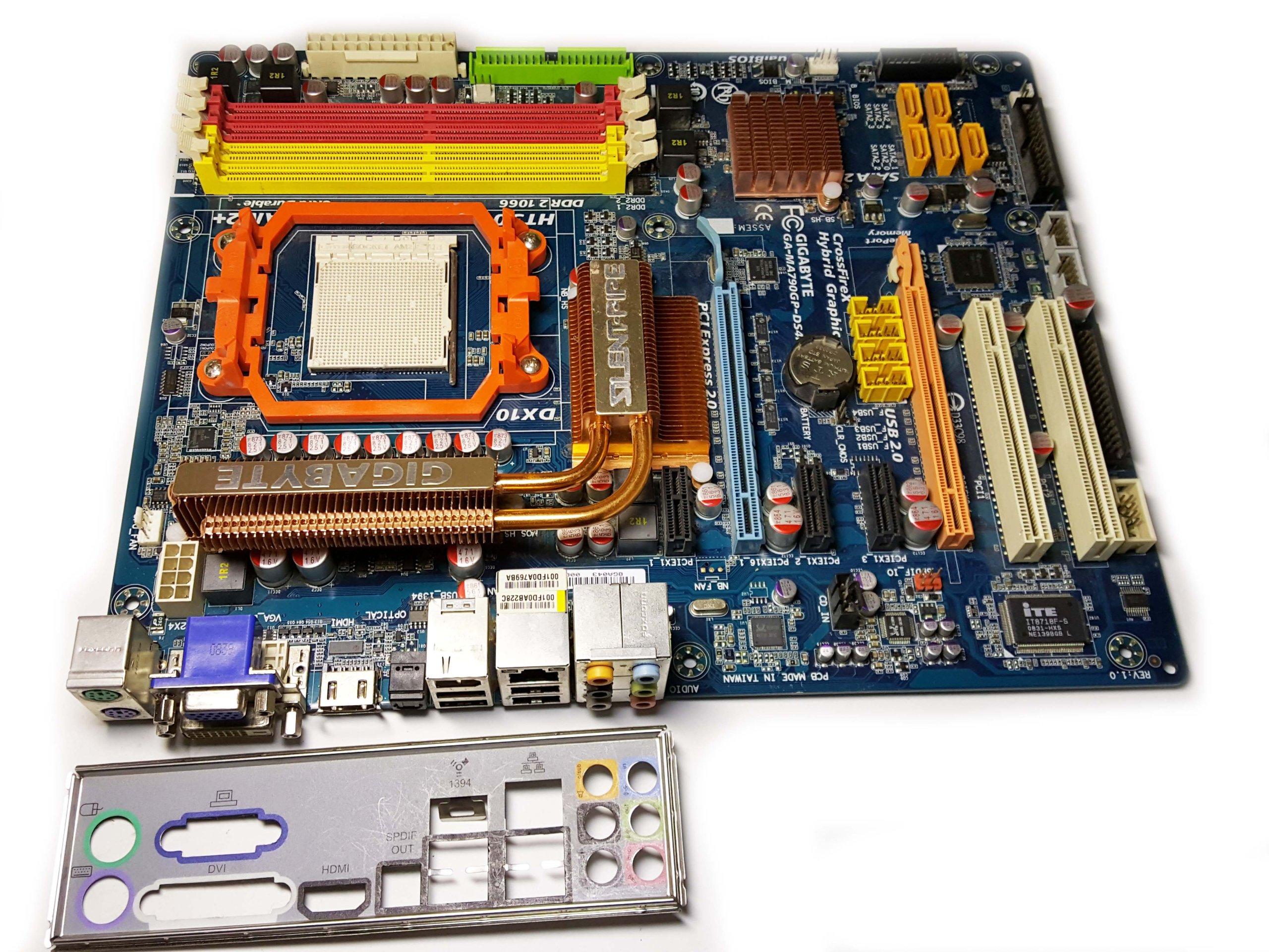 GIGABYTE GA MA790GP AM2 AM3 4XDDR2 do 16GB 7 1