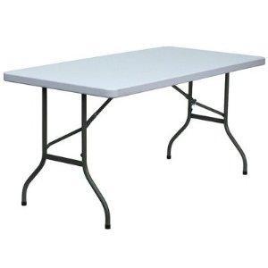 Modernistyczne Stół bankietowy cateringowy ogrodowy 200x90 cm - 7379001290 ZI26