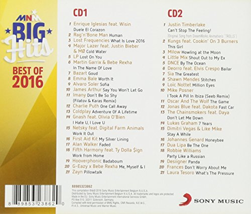 CD V/A - Mnm Big Hits Best Of 2016