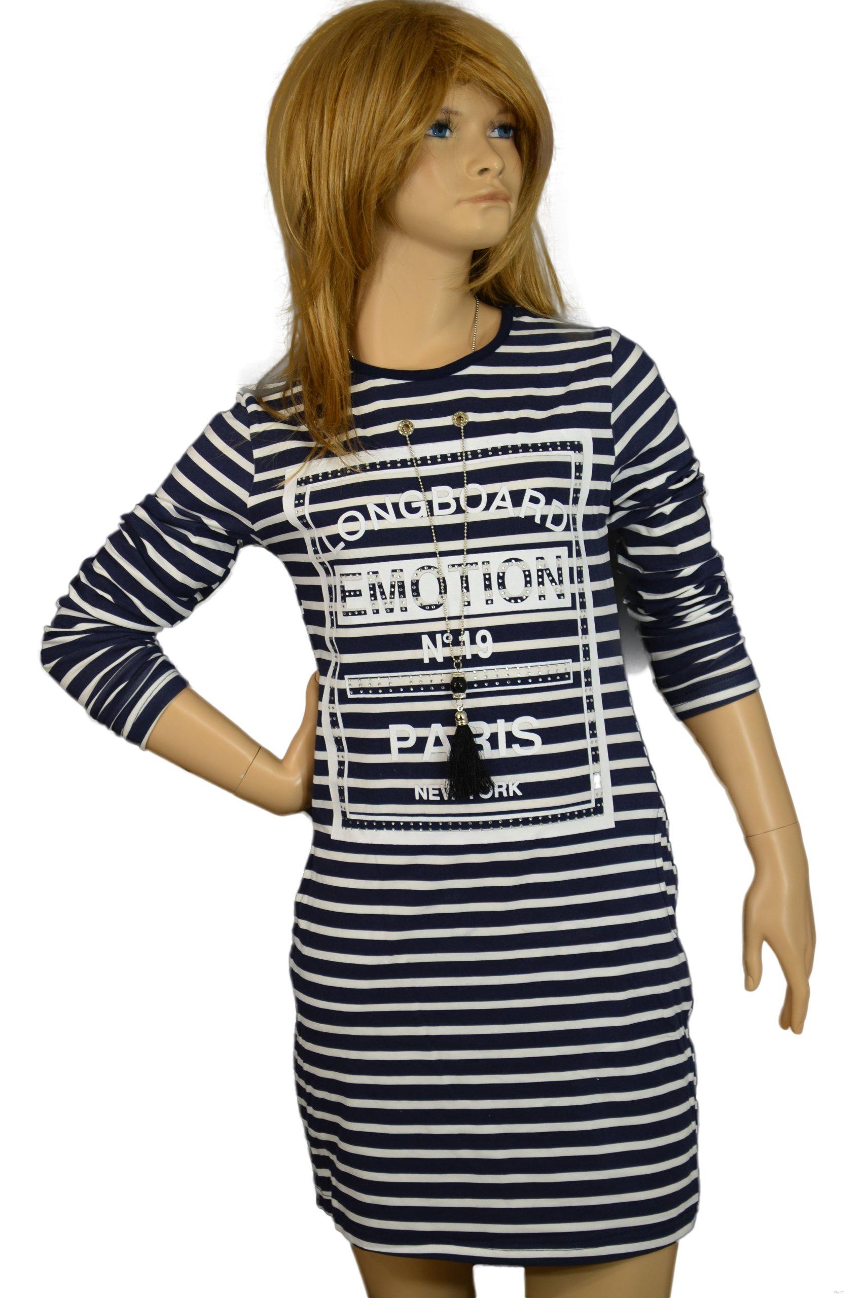 53e035f96a Sukienka   Tunika z wisiorkiem rozmiar 140 146 - 6513574290 ...