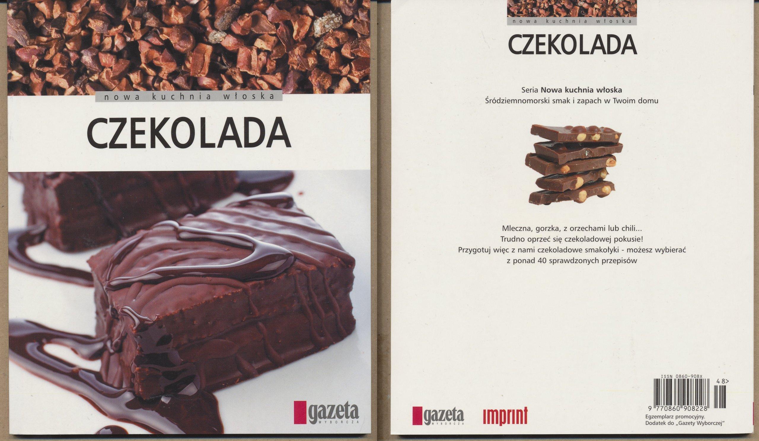 Czekolada Nowa Kuchnia Włoska 7172402993 Oficjalne