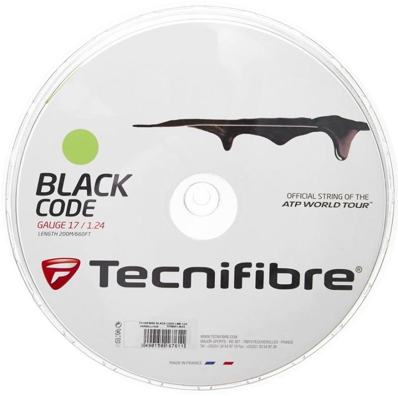 Nowy naciąg tenisowy Tecnifibre Black Code (200 m)