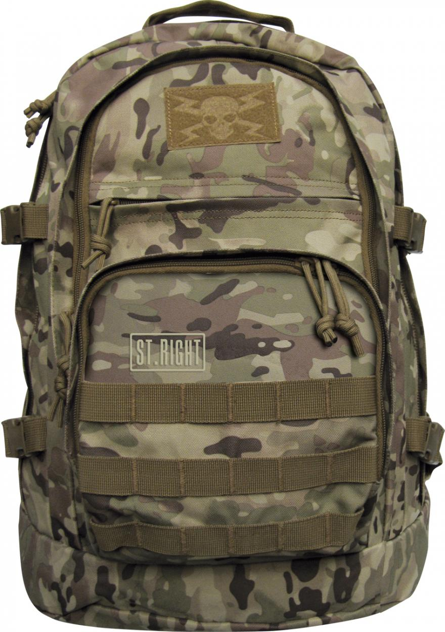 95d47e84f88c3 Plecak 3-komorowy BP37 Military Multi Camo - 7427490682 - oficjalne ...