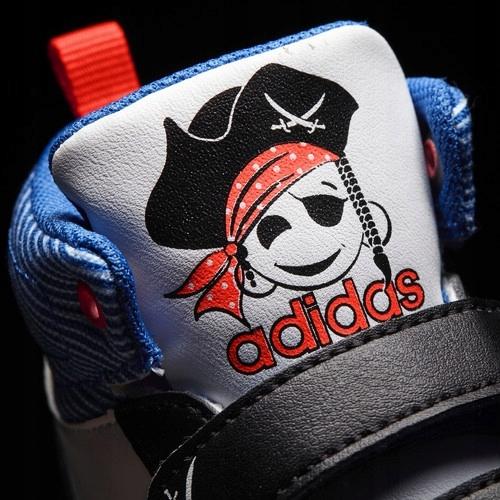 Okazja! Tanio! Adidas Hoops Mid Neo Pirat Jake 7559369962