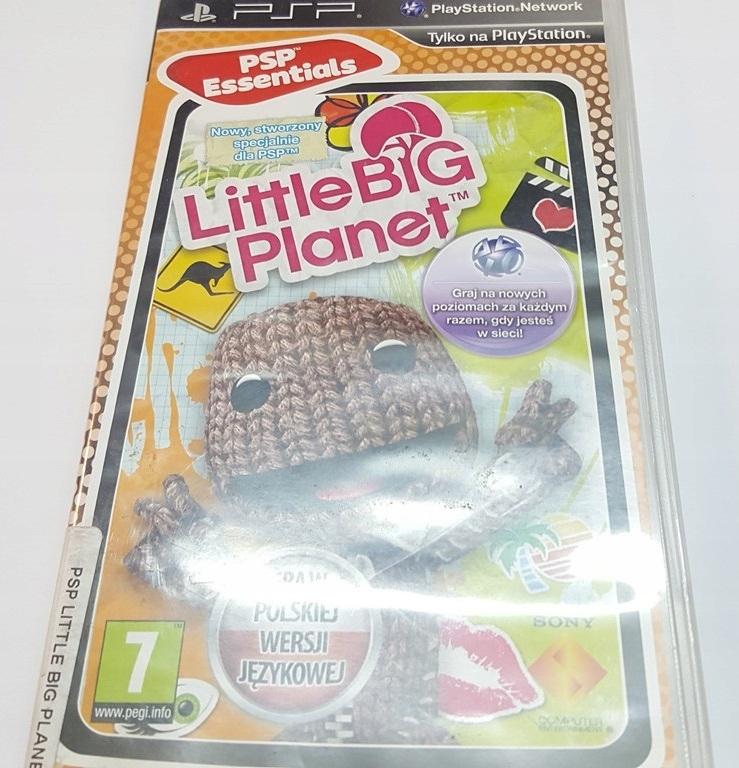 PSP LITTLE BIG PLANET