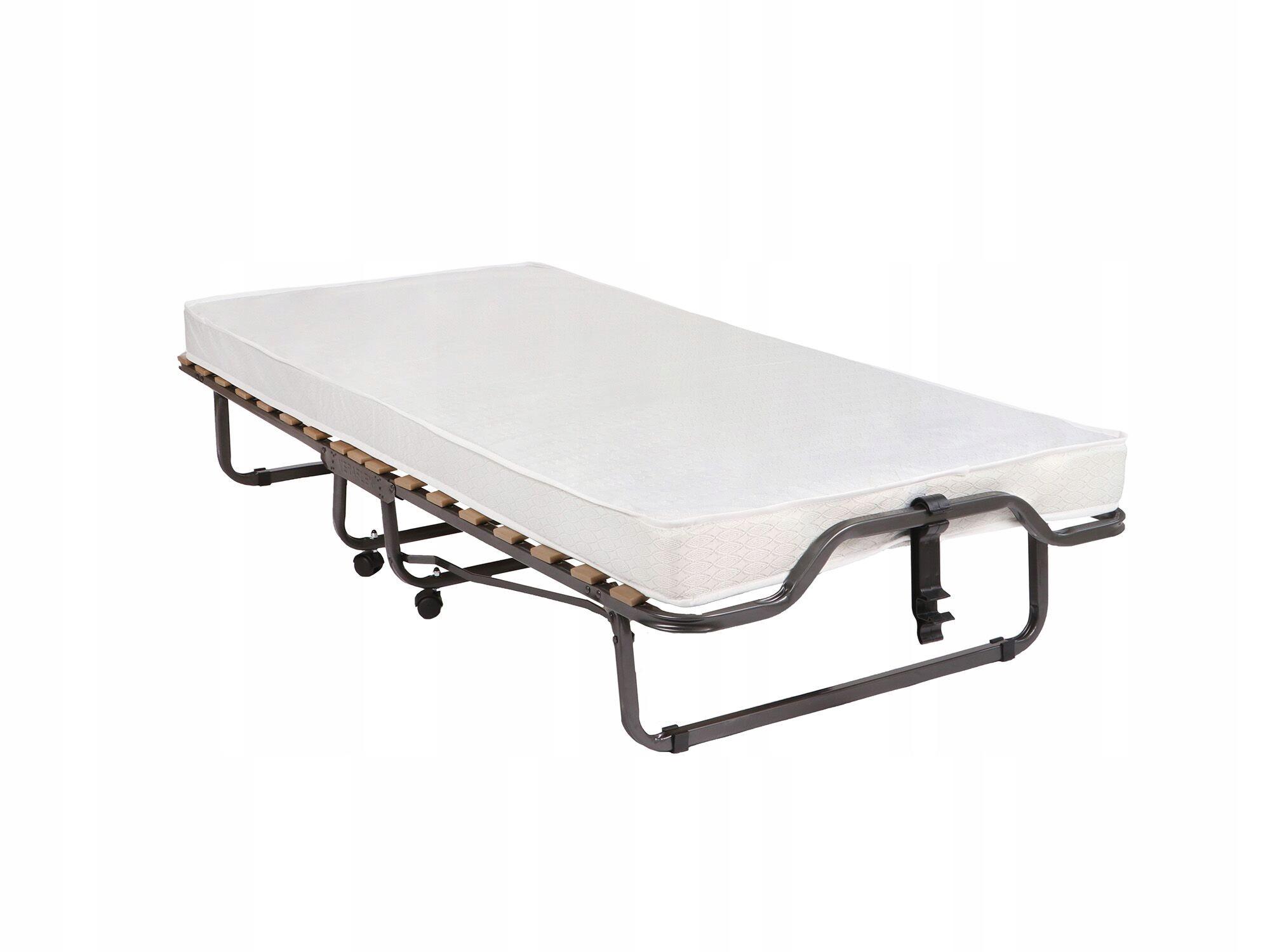 łóżko Polowe Składane Dostawka Hotelowa 90x200 7424901025