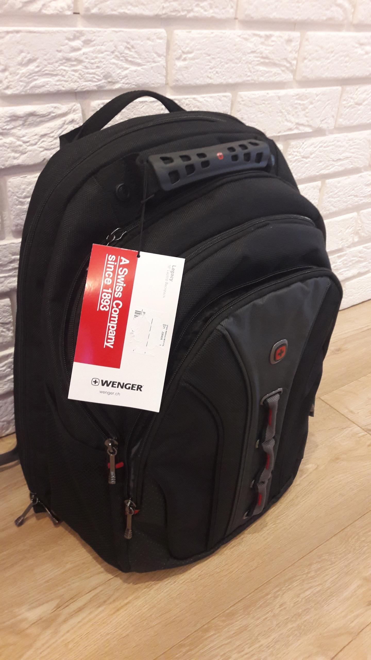 00b899b364d5f Plecak Wenger Legacy na laptopa 16