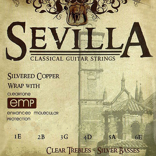Struny CLEARTONE Sevilla Classic (Ball, Regular)