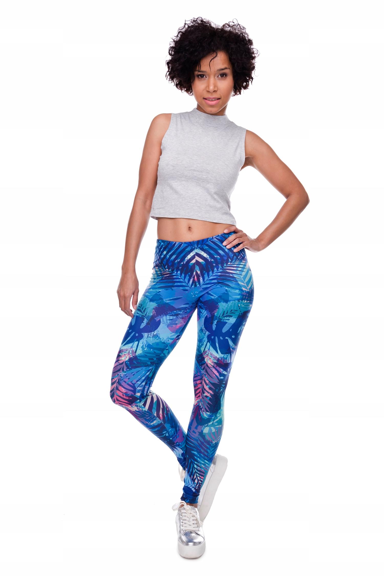 4d8f5c24bd1af ZOHRA Official kolorowe legginsy fitness siłownia - 7685661515 ...