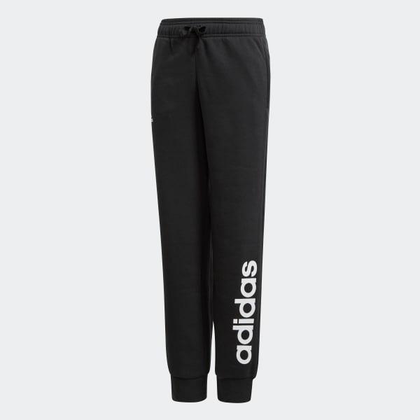 d983d0b86 Spodnie dresowe dziecięce czarne Adidas unisex 164 - 7686994564 ...