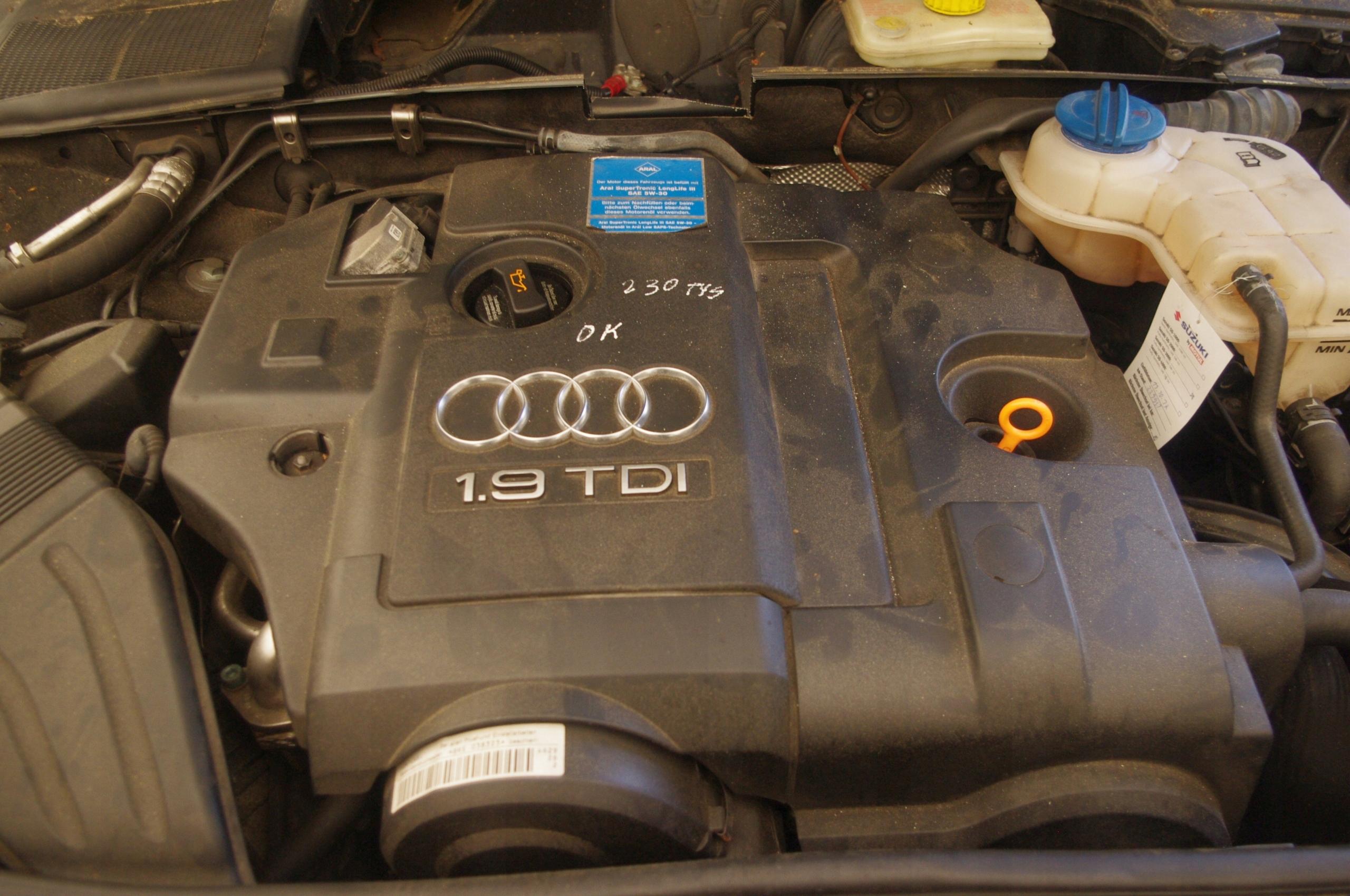 Silnik Audi A4 B6 B7 Bke 19tdi 116km 7544284870 Oficjalne