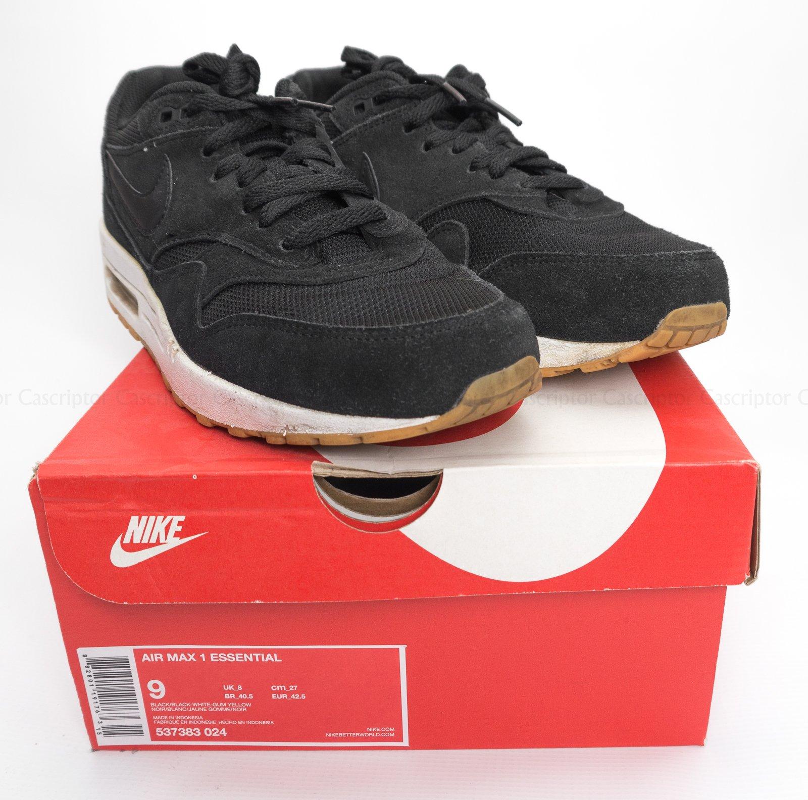brand new a560b 0c946 Nike Air Max 1 Essential 42,5 27cm 537383 024