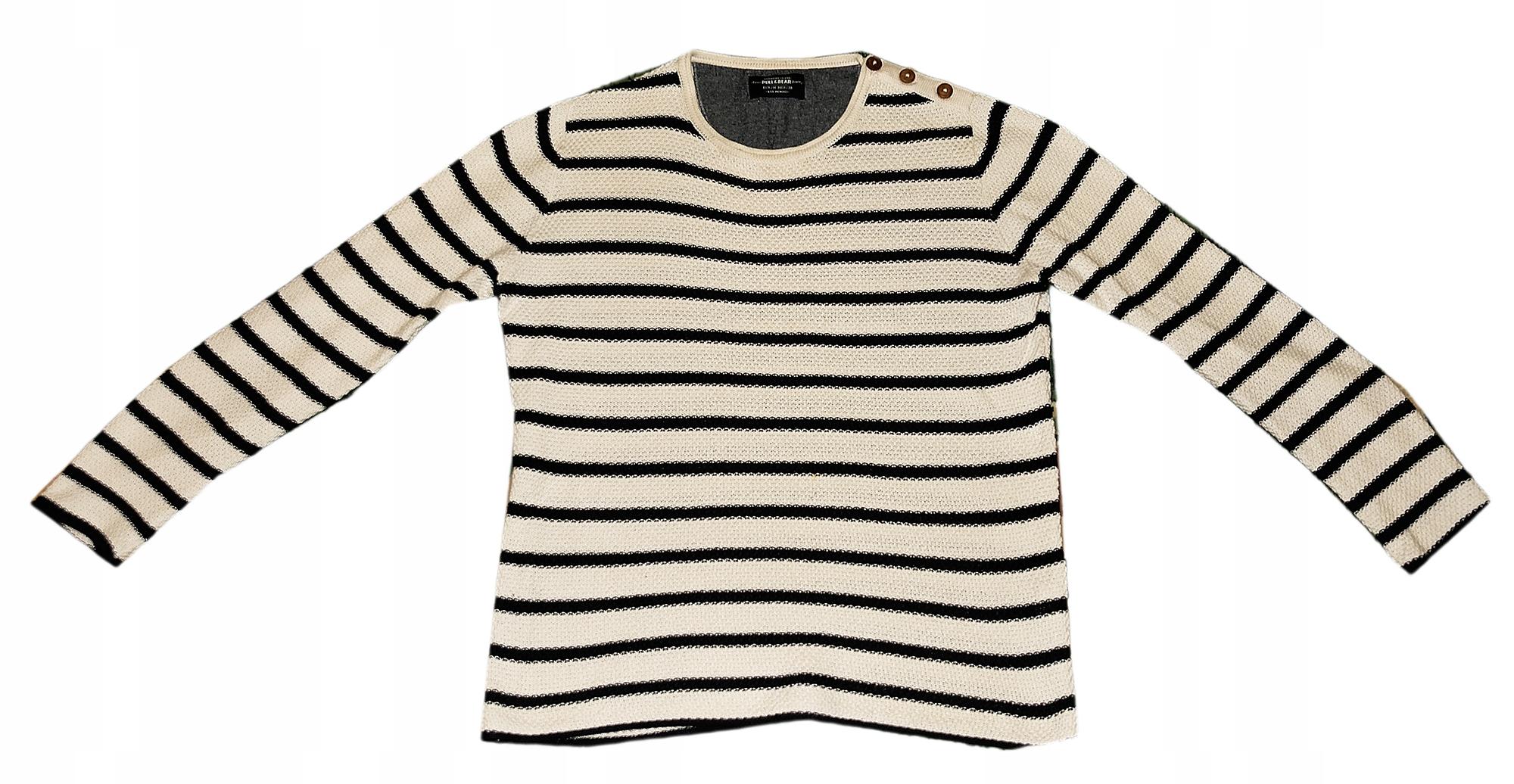 2abb163e7538ae swetr Pull&Bear rozmiar M - 7699817509 - oficjalne archiwum allegro