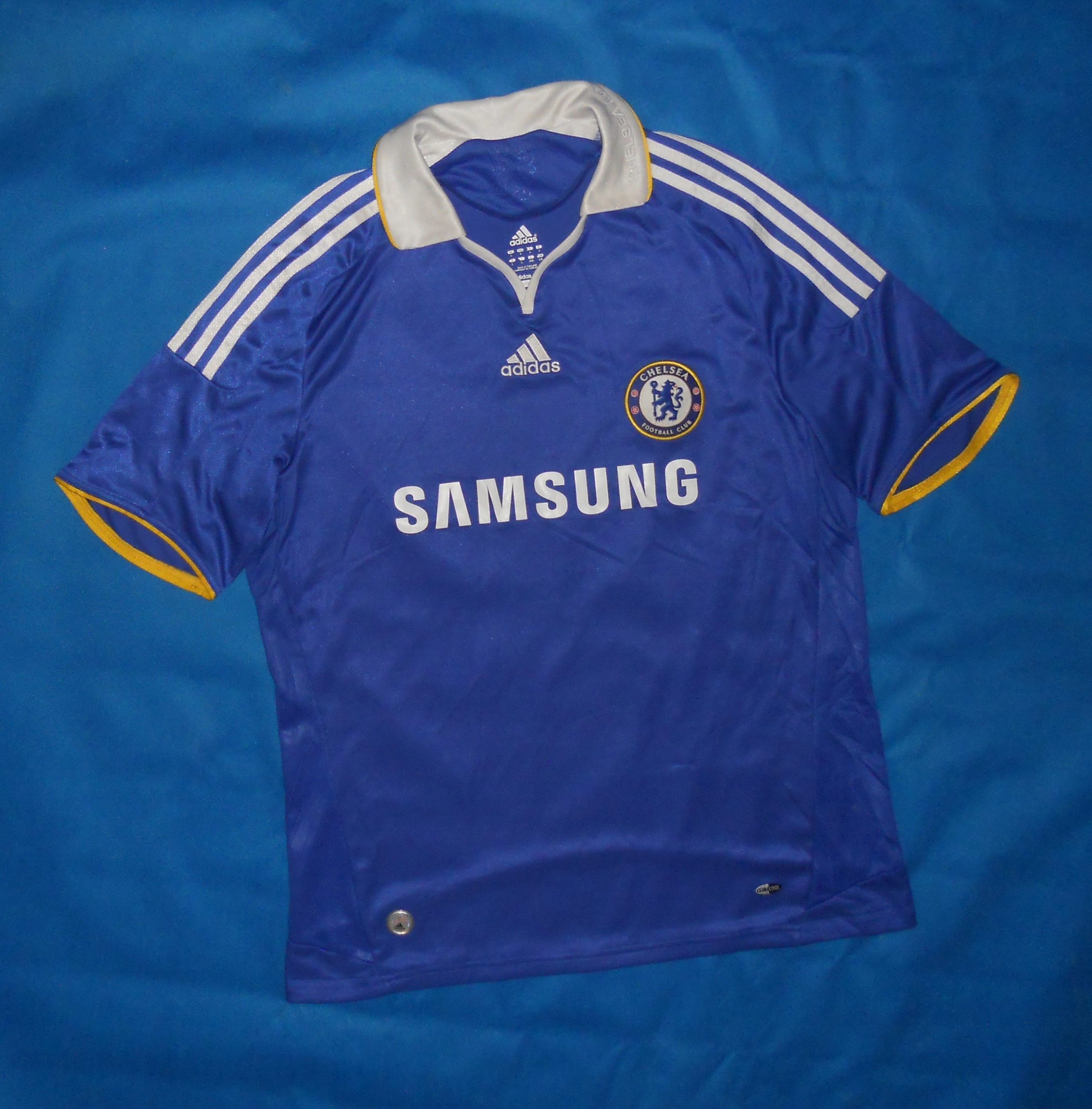huge discount 08d0e ac8ab Chelsea FC Adidas Home Shirt 2008/09 Unikat L