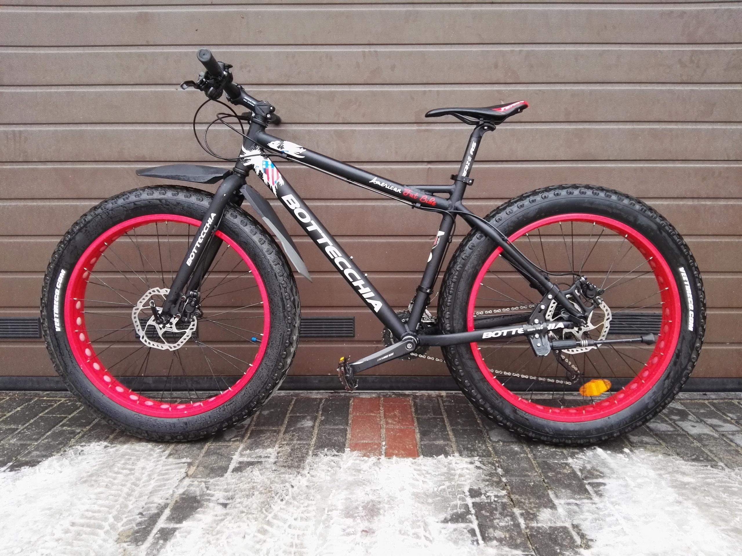 BOTTECCHIA Fat Bike (2015r.) - Hydraulika, Alivio
