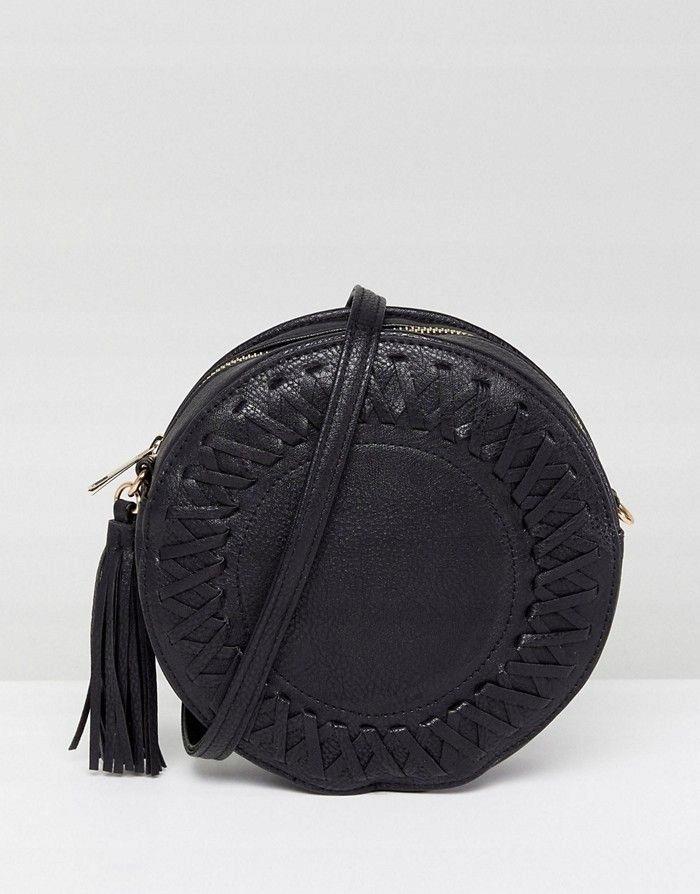 83c9ac090f3a9 LIQUORISH Czarna okrągła mała torebka - 7582431197 - oficjalne ...