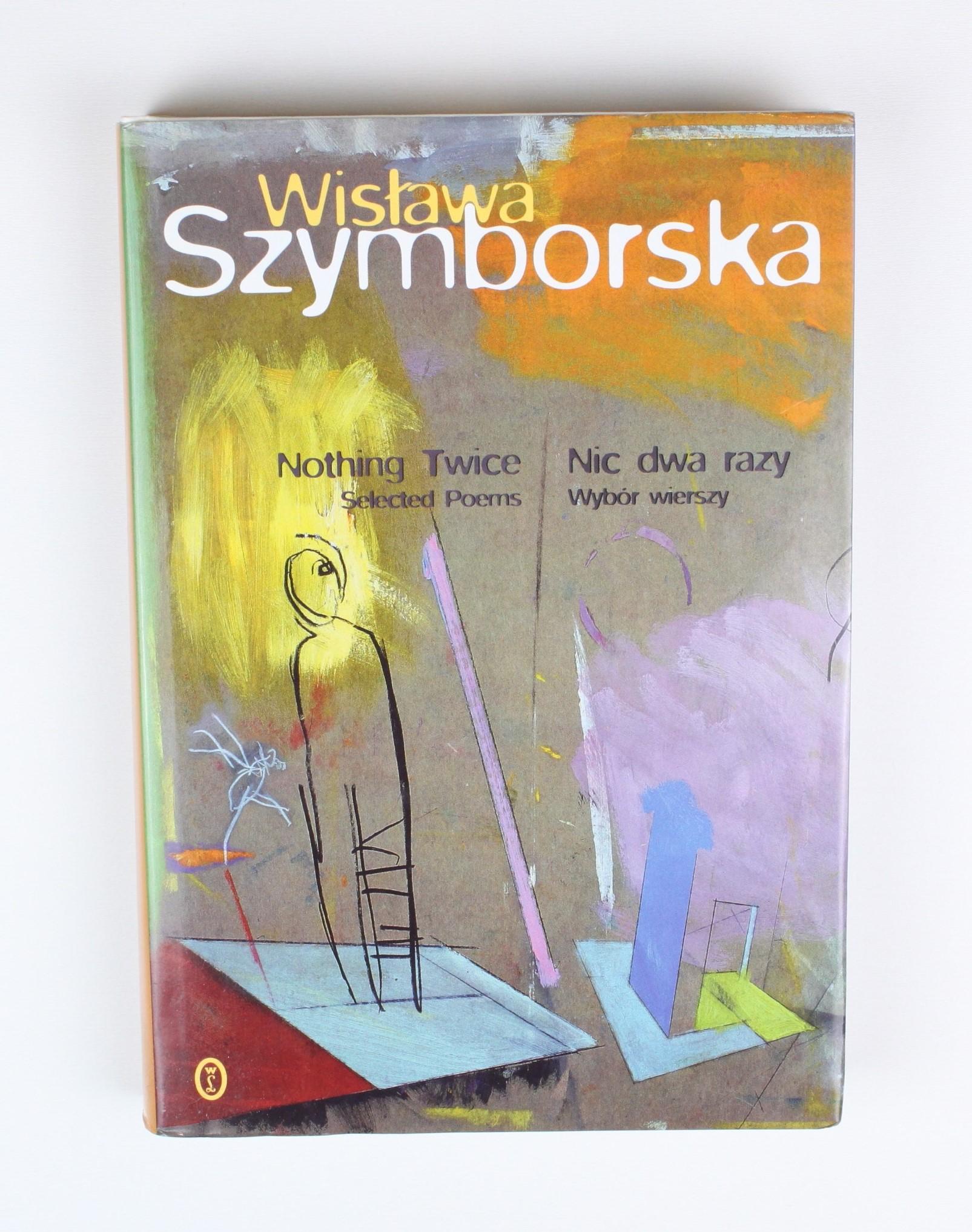 Wisława Szymborska Nic Dwa Razy Nothing Twice 7055874954