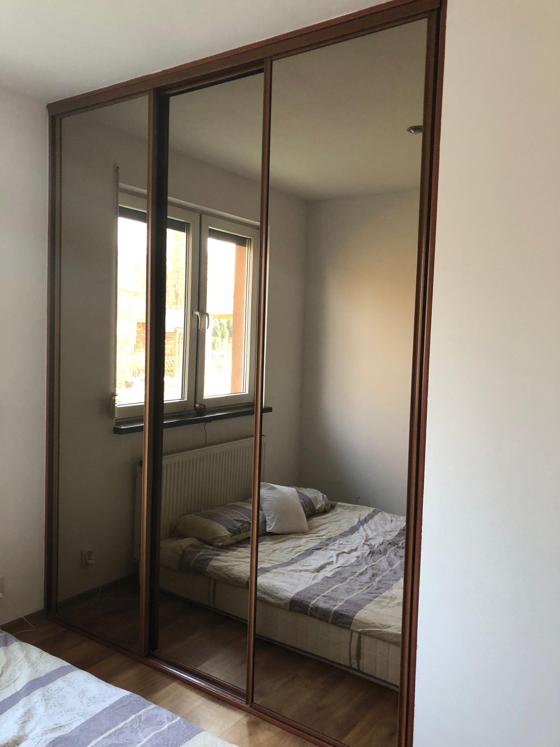 Drzwi Przesuwane Do Garderoby Szafy Lustro 7178508901