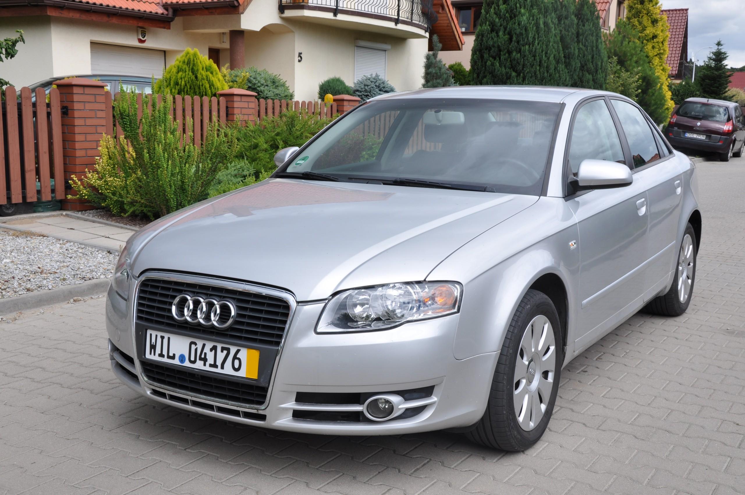 Audi A4 B7 1 8T 163KM 2005 Sedan Automat Serwis
