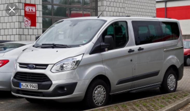 Ford Transit Custom Salon PL I wł VAT 23 %