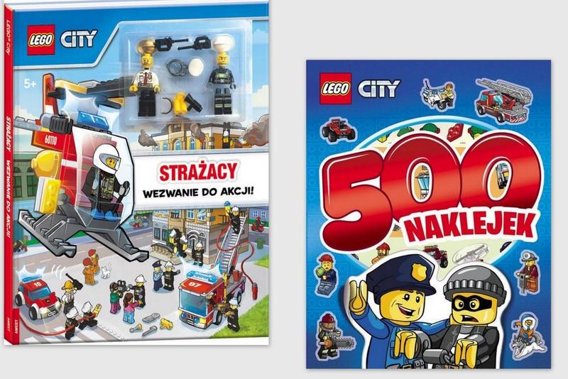 Lego City 500 Naklejekfigurka Strażacy Wezwanie 7151769425