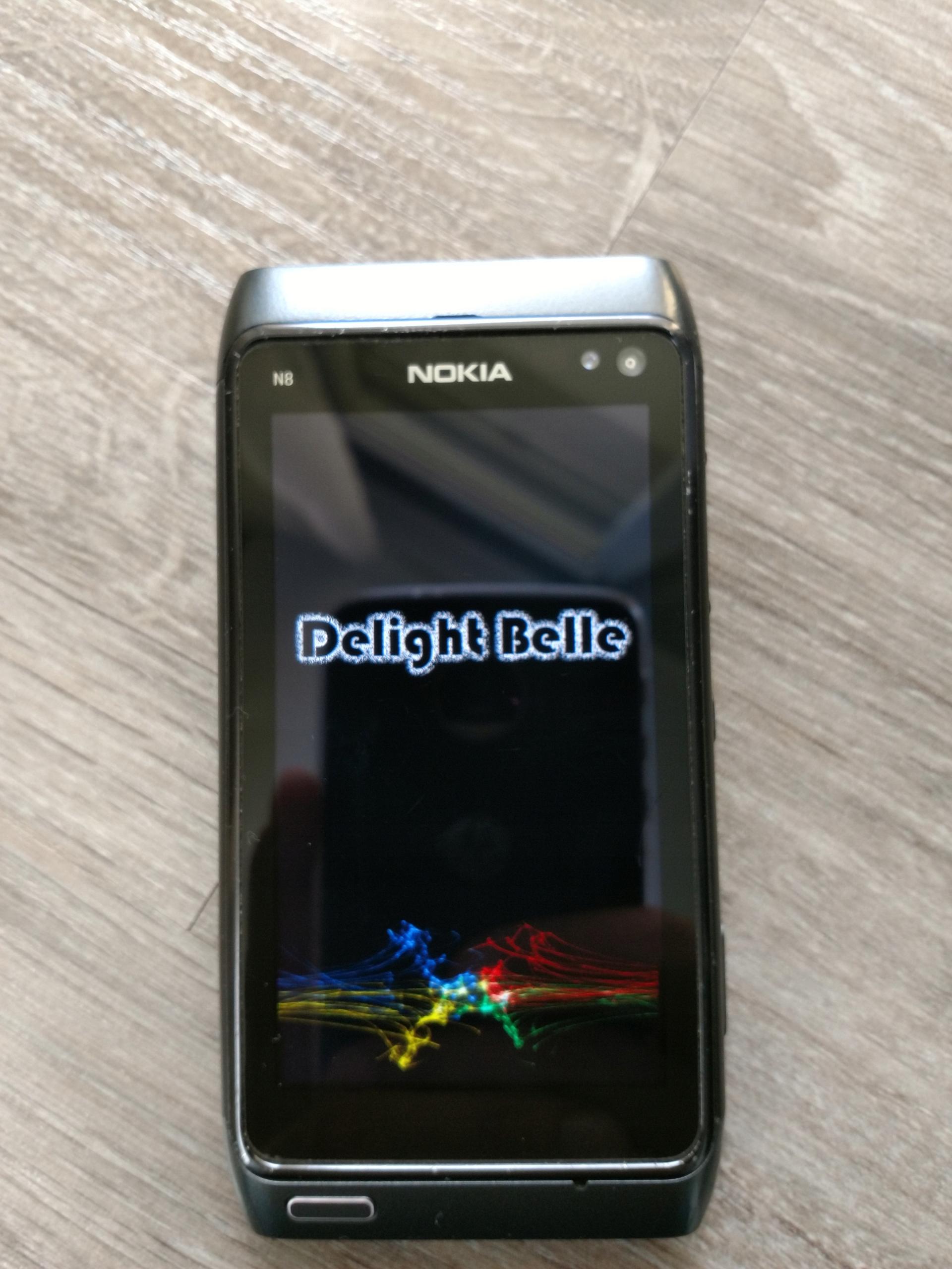 Nokia N8-00 PL Belle Delight v6 4 + akcesoria