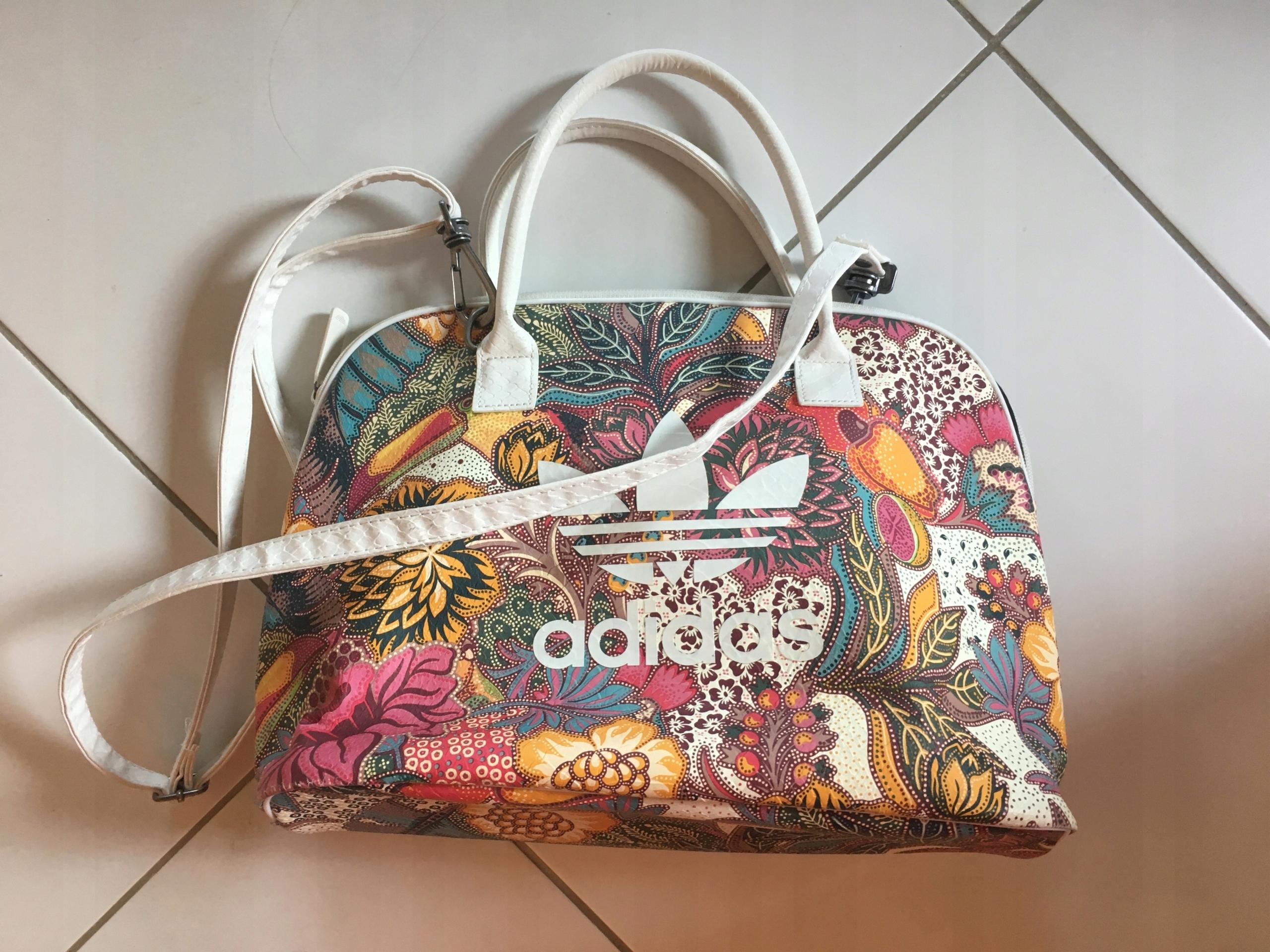 a603c407d2cb5 Torebka Adidas Bowling Bag w kwiaty - 7512977934 - oficjalne ...