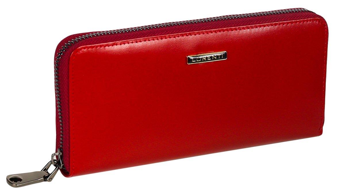4a377922539f49 Loren duży skórzany portfel piórnik suwak kolory - 7021275413 ...