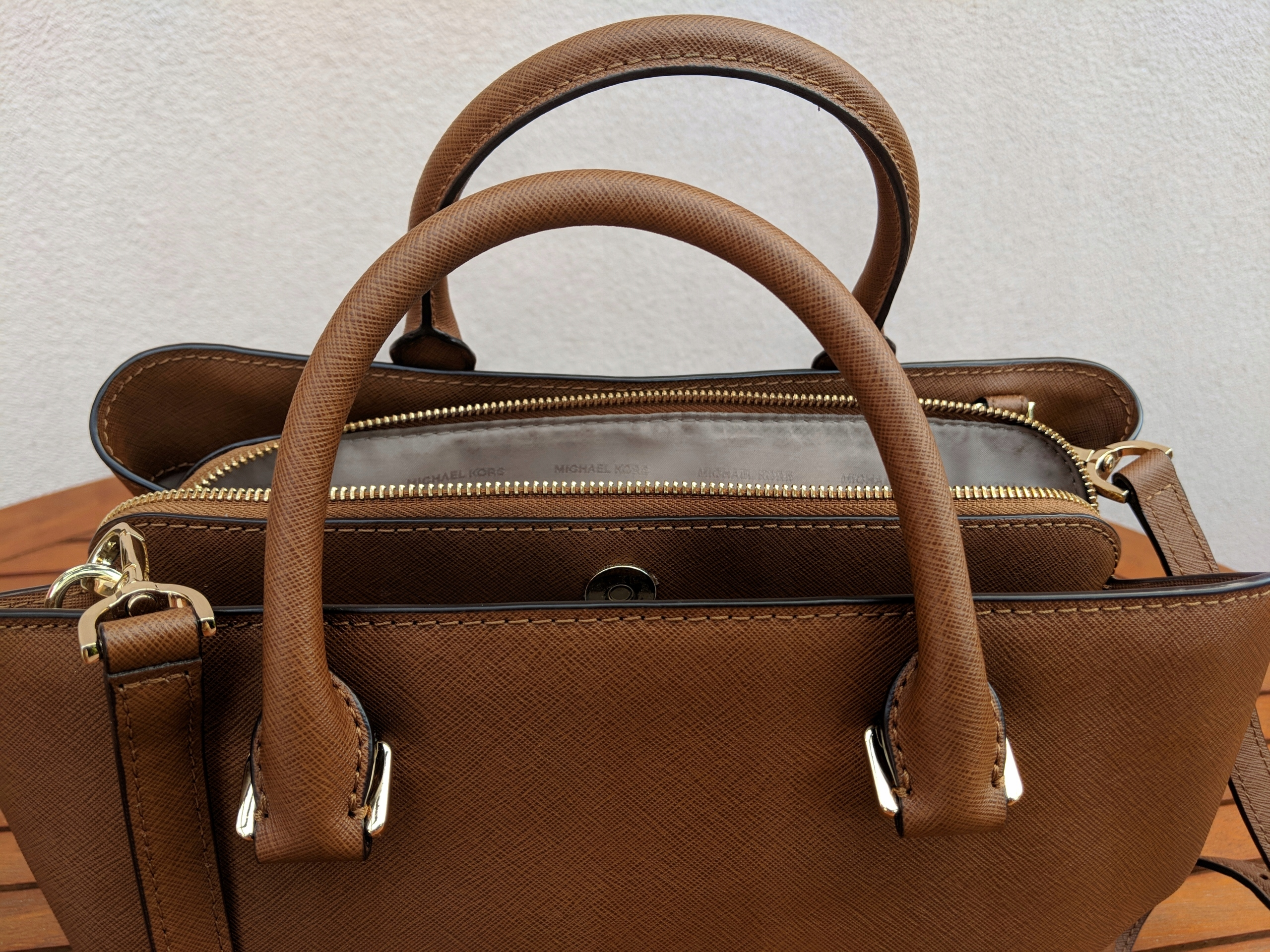 2d36c751a525d Torebka Michael Kors Savannah Lg Satchel Luggage - 7532872687 ...