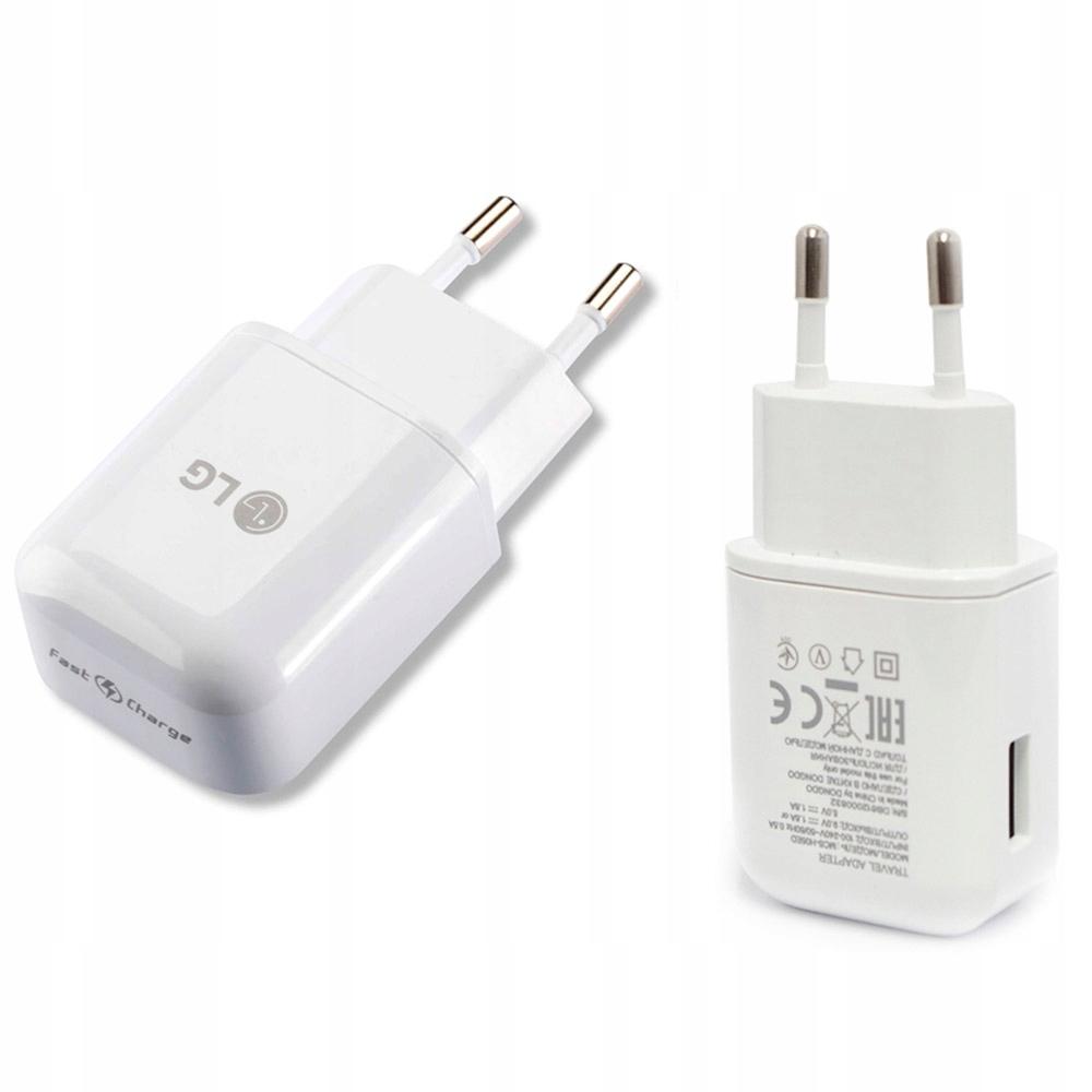 iPhone X | Oryginal Ładowarka sieciowa LG FC 1.8A