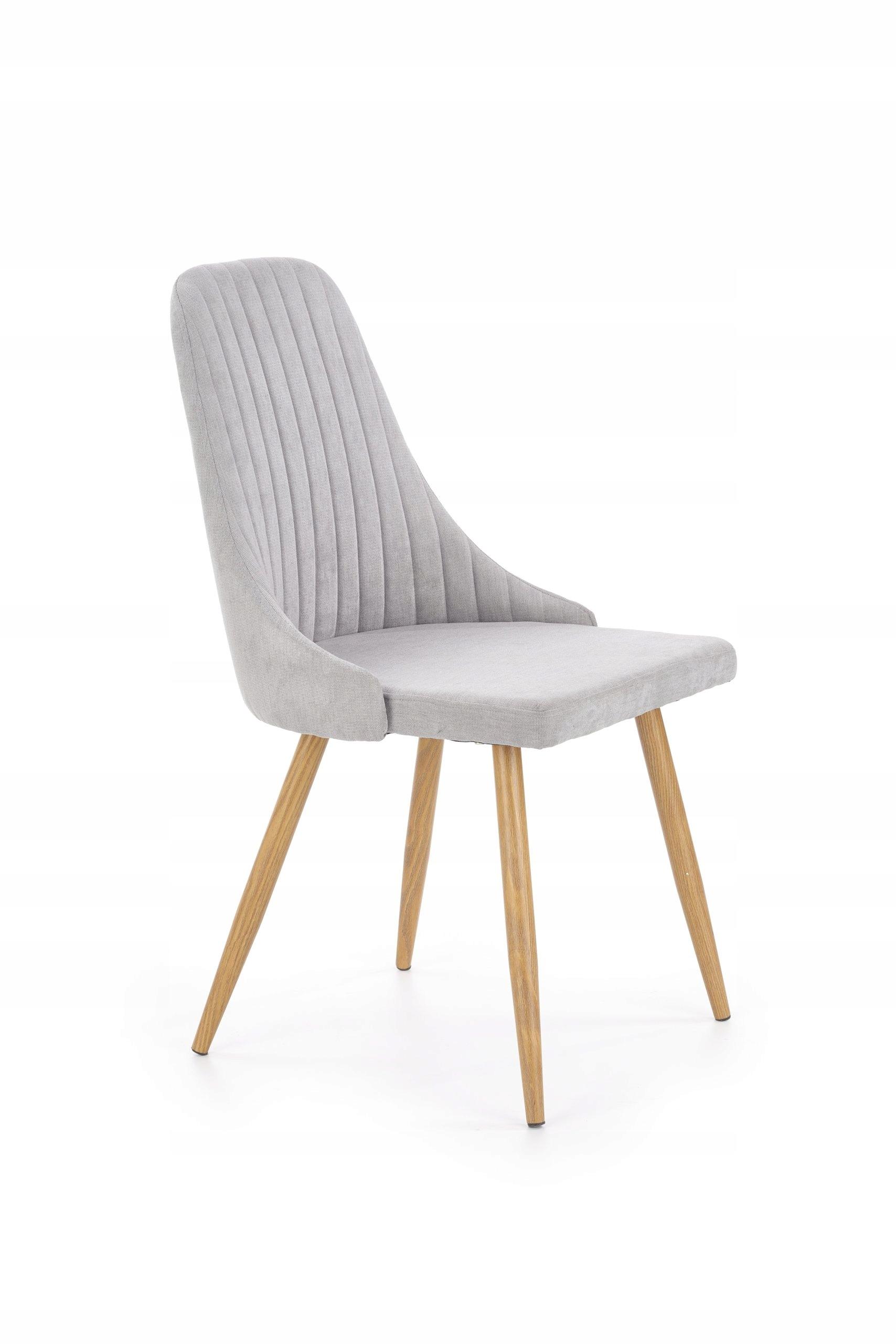 Tanie Krzesło Do Salonu Gabinetu K285 Szare Beż