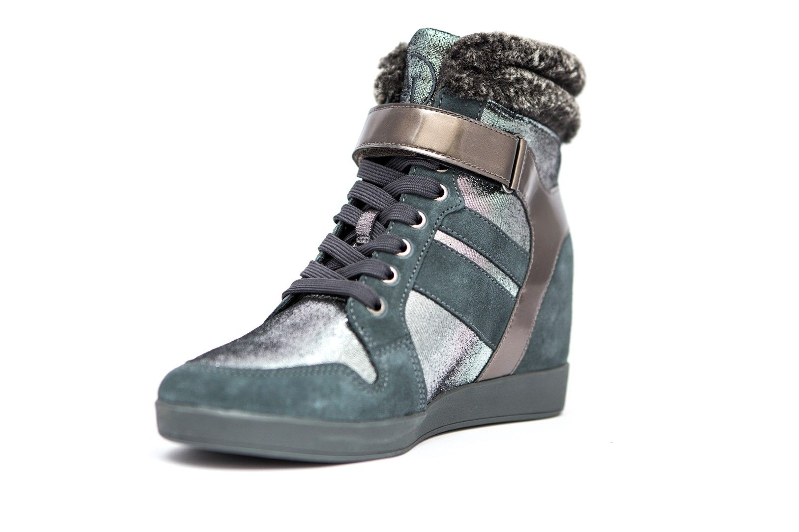 71d9e52a3a007 Armani Jeans Buty D. Sneaker Antracite 38 - 6956426802 - oficjalne ...