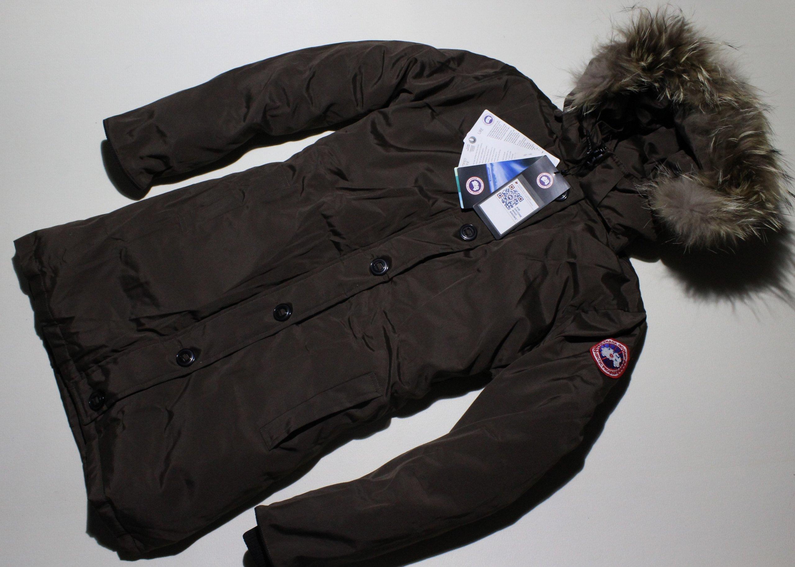 canada goose płaszcz puchowe zimowe