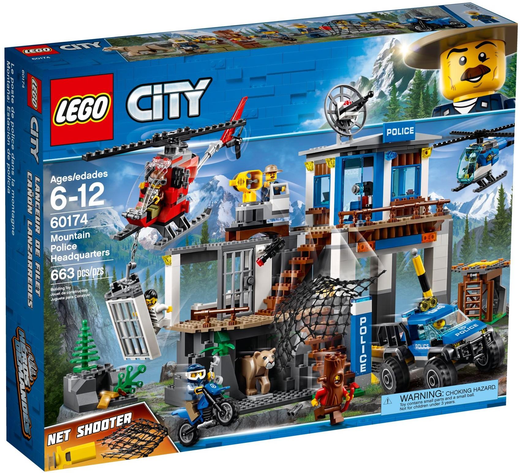 Klocki Lego City Górski Posterunek Policji 60174 7112188365