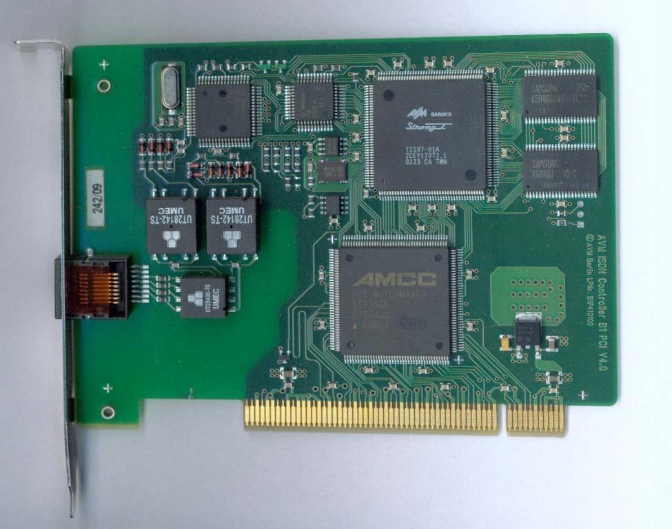 Modem AVM ISDN Controller B1 PCI V4.0