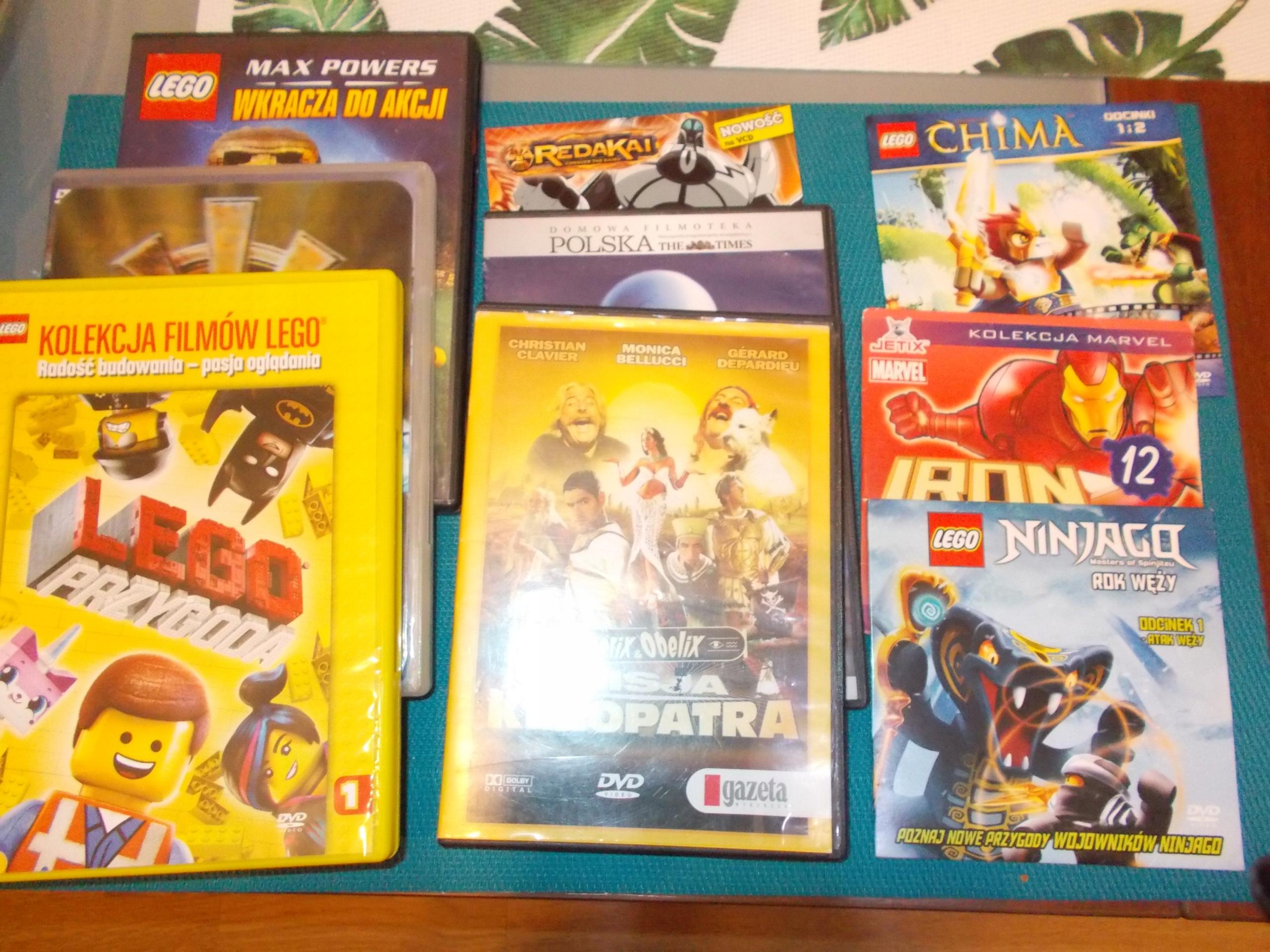 9 filmów dal dzieci w tym LEGO