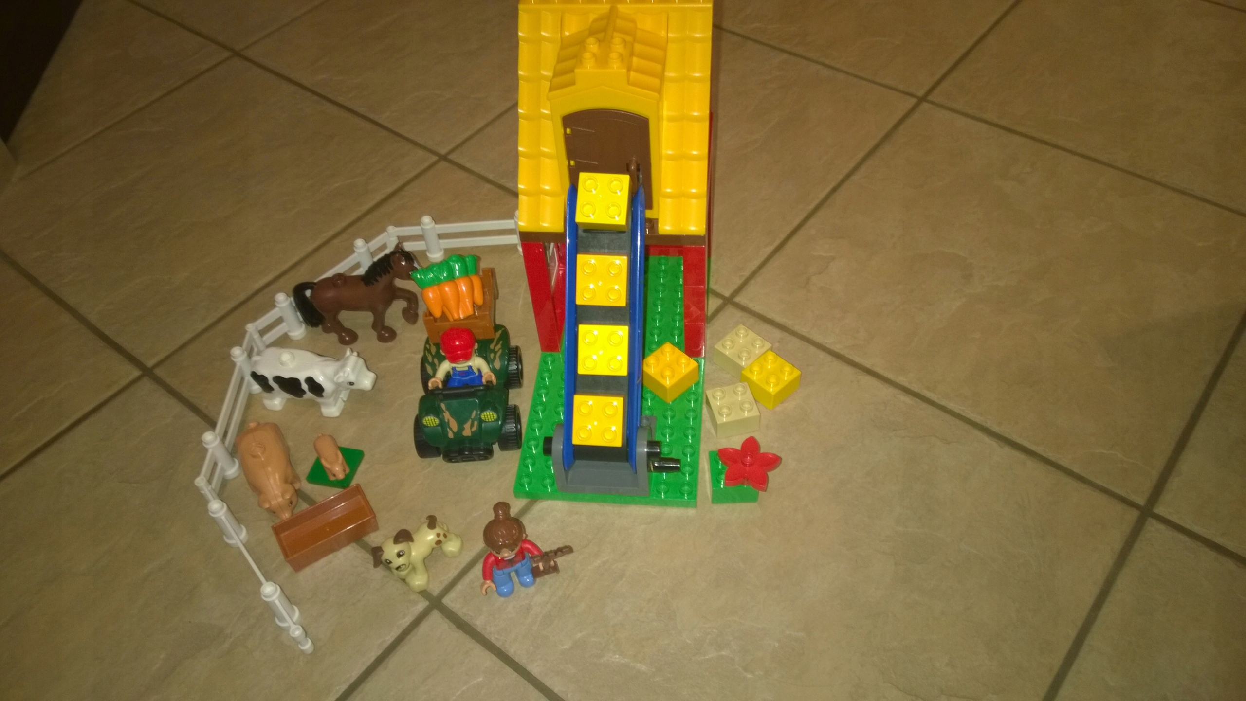 Lego Duplo Farma 4975 7481073703 Oficjalne Archiwum Allegro