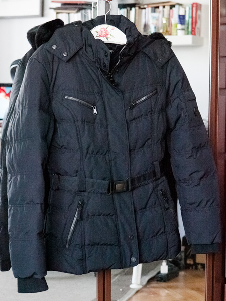 2c126ca336600 SKAG kurtka zimowa czarna kaptur sportowa pikowana - 7133486038 ...