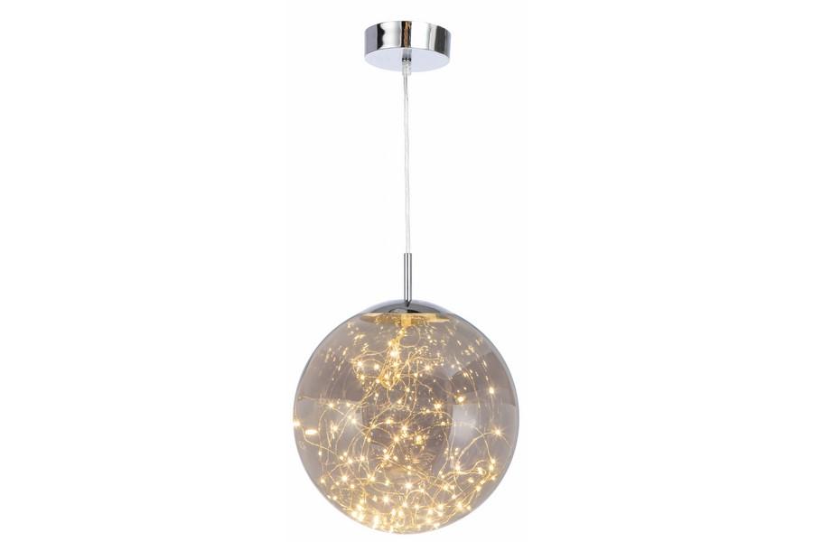 Lampa Led Szklany Szklana Zlota Kula 1x18w 7251428209 Oficjalne