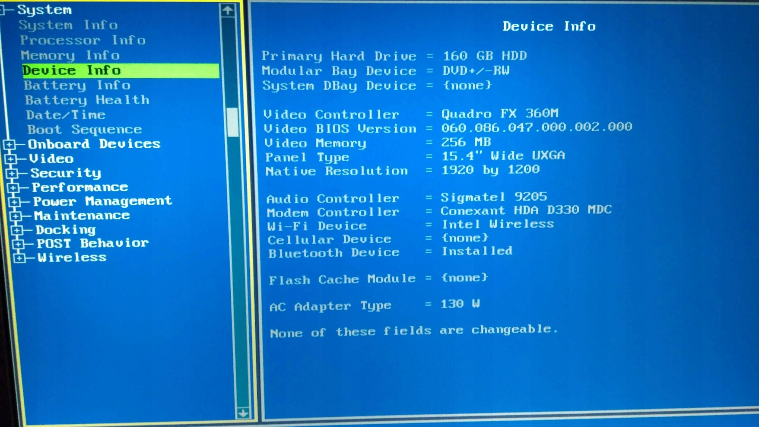 Dell Precision M4300 15