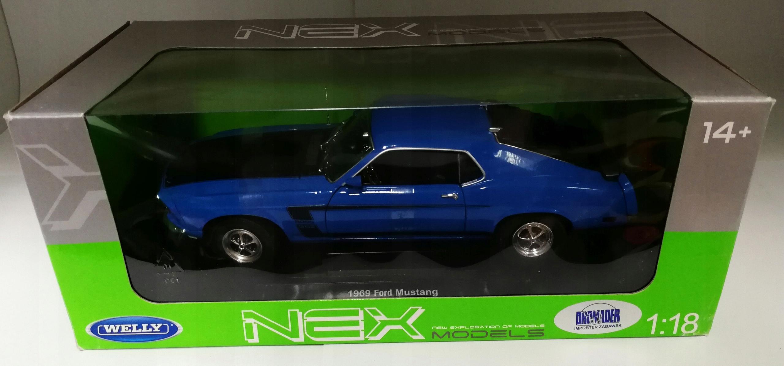 Ford Mustang 1969 Zabawka