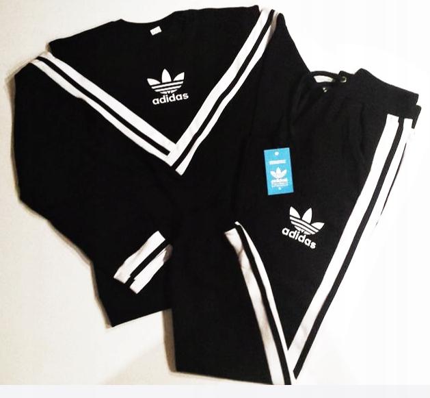 taniej Najnowsza tanie z rabatem Dres Adidas Komplet odkryte ramiona- M - HIT